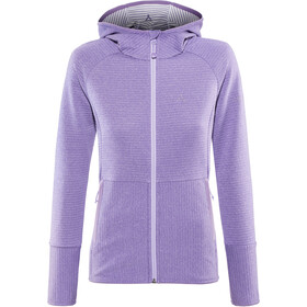 Schöffel Wien Fleece Hoodie Damen purple haze